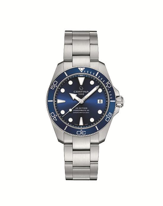 Certina DS Action Diver 38 mm blue C0328071104100
