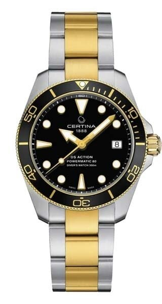 Certina DS Action Diver 38 mm black C0328072205100
