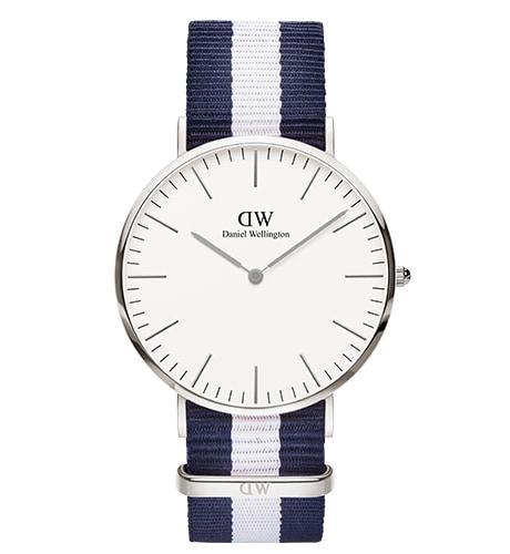 Daniel Wellington Classic Glasgow Silver DW00100018