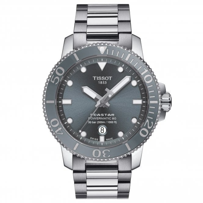 Tissot Seastar Powermatic 80 Grey
