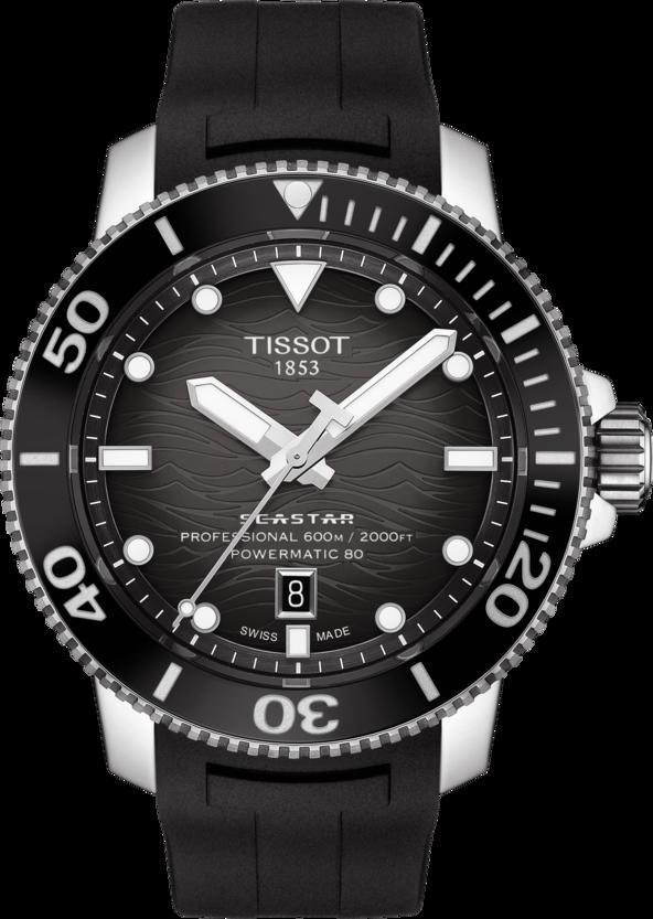 Tissot Seastar 2000 Professional powermatic 80 black