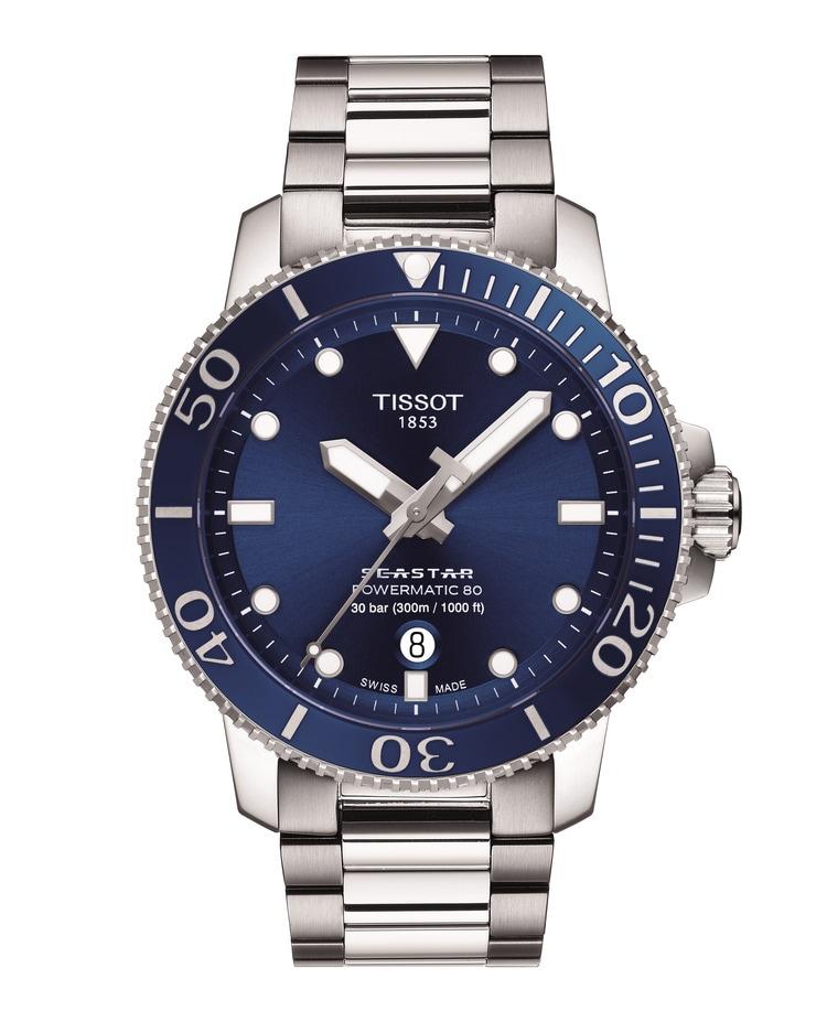 Tissot Seastar Powermatic 80 Blue